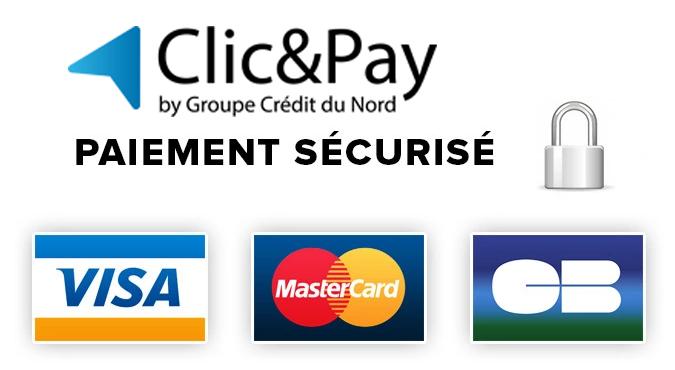 paiement sécurié clic and pay